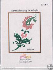 BossKut /'Rose die by Lisa Schmidt/' use in all die cutting machines