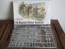 "Dragon 6067 13 TH Mountain Division ""mano Schar"" in scala 1:35 * NUOVO *"