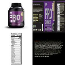 OPTIMUM NUTRITION Pro Gainer Weight 5 Pounds, Double Rich Chocolate