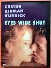 Eyes Wide Shut DVD Region 1 Tom Cruise Nicole Kidman Pollack Field Kubrick