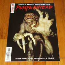 2018 Pumpkinhead #1 Movie Photo Variant Edition 1st Print Dynamite