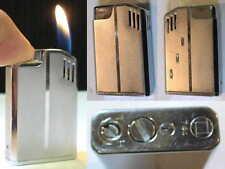 BRIQUET Ancien -- 744 Art Déco Design - Vintage gas LIGHTER Feuerzeug Accendino
