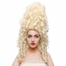Parrucca lunga ondulata bionda Donna Costume Accessorio Gallina/'S DO