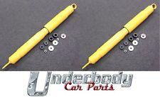 1 Pair NEW Rear Shocks suit NISSAN PATROL GQ/GU Y60/61 Tray Back w Leaf Springs