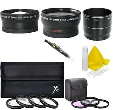 Accessory Kit (Wide/Tele Lens Filter Set) for Nikon Coolpix P7000 P7100