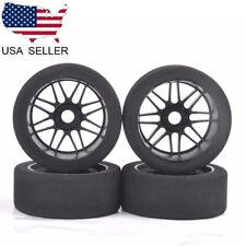 US 4Pcs 105mm Foam Tires Wheel Rims Set 17mm Hex For HSP HPI 1/8 RC Racing Car