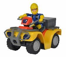 Simba 109257657 Fireman Sam Figurewith Mercury Quad Bike and Accessories,
