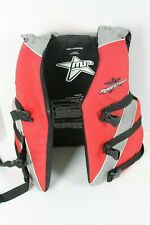 Marine Products Life Vest Jacket Youth 50-90 LBS Red Black Gray USCG Approved