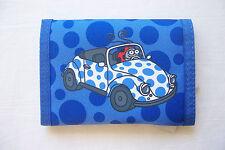 Kukuxumusu Escarabajo Auto Azul Cartera