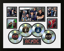 ACDC ROCK OR BUST TOUR 2015 SIGNED LIMITED EDITION FRAMED MEMORABILIA