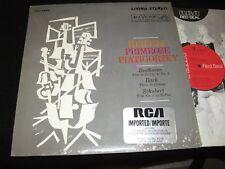 HEIFETZ /PRIMROSE<>BEETHOVEN-BACH-SCHUBERT<>LP Vinyl~US Pressing<>RCA LSC-2563