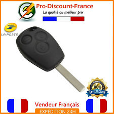 Coque Plip Clé Pour Renault 3 Boutons Clio Modus Twingo Kangoo télécommande