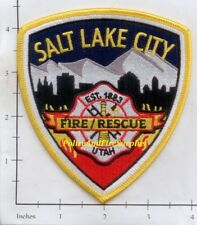 Utah - Salt Lake City UT Fire Dept Patch