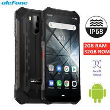 """5,5"""" Ulefone Armor X3 32Go 5000mAh Téléphone Étanche Face ID 2SIM Débloqué IP68"""