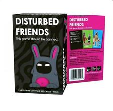 400 Basic Disturbed Friends Card Game The Party Game Should be Banned - AU Stock