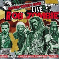 ROB ZOMBIE - ASTRO-CREEP: 2000 LIVE SONGS (LIVE AT RIOT FEST)   CD NEW!