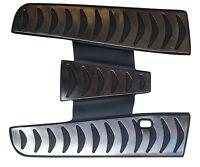 VESPA PX PE T5 LML XE COMPLETE RUBBER BLACK & SILVER CUSTOM FLOOR MAT