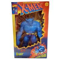 "Vintage ToyBiz 1994 X-MEN BEAST Deluxe Edition 10"" Action Figure NEW"