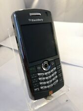 Incomplete Blackberry Pearl 8120 Grey Slim Orange Network Mobile Phone