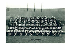 1965 WORLD CHAMPION GREEN BAY PACKERS  8X10 TEAM PHOTO WISCONSIN FOOTBALL NFL