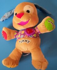 "15"" Interactive Fisher Price Laugh & Learn Puppy 40+ Sing-along songs & stories"