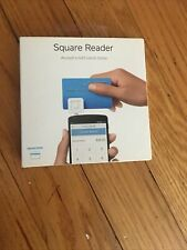 Square A-Pkg-0206-01 Credit Debit Card Reader - White for Apple iPhone and.