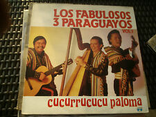 LP LOS FABULOSOS 3 PARAGUAYOS VOL.1 CUCURRUCUCU PALOMA LOTUS ITALY EX+/N-MINT