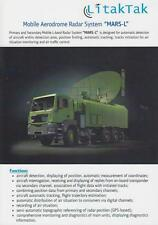 LITAKTAK MARS-L 2014 RADAR ON MAN TG MILITARY BROCHURE PROSPEKT FOLDER