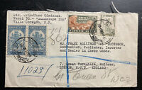 1945 Mexico City Mexico Airmail Cover To LOndon England Sunburst Seal