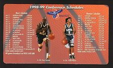 Florida Atlantic Owls--1998-99 Basketball Magnet Schedule