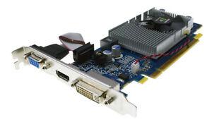 Geforce G210 512MB DDR2 D-Sub DVI HDMI G210-512MB-DDR2