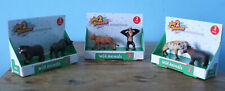 2 Boxed Plastic Wild Animals by Play 2 Discover select from menu