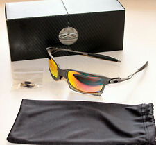 OAKLEY GENUINE X SQUARED X METAL FRAME W/  RUBY IRIDIUM LENSES NIB