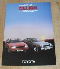 Toyota Celica Brochure 1983-ST Coupé & Liftback-A60