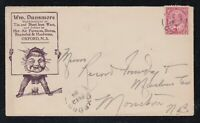 Canada 1904 IRON & STOVES Comic Advertising Cover OXFORD to Moncton
