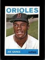 1964 TOPPS #364 JOE GAINES NM ORIOLES CENTERED  *XR20712