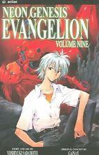 Neon Genesis Evangelion, Volume 9, Very Good Condition Book, Sadamoto, Yoshiyuki