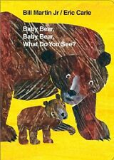 Baby Bear, Baby Bear, What Do You See? Board Book (Brown Bear and Friends) by Bi