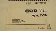 Ducati 600TL Pantah CATALOGO RICAMBI .593