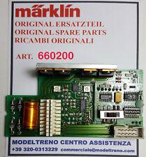 MÄRKLIN 660200 DECODER  2 MOTORI SCALA 1 - DECODER,LOKG.2MOT. SPUR 1