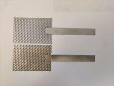 Platinum Mesh Anode And Titanium Mesh Cathode Set 2 X 3 With Stem Handle