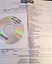 RADIO SHOW: OFF THE RECORD CLASSIC 3/2/02 BAD COMPANY TRIBUTE 11 TUNES