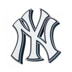 MLB New York Yankees 3D Foam Logo Magnet Home Office Bar Decor