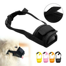 Stop Bite Barking Small&Large Adjustable Dog Muzzle Pet Mouth Cover Breathable