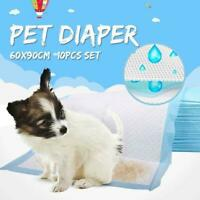 60x90cm Large Puppy Training Pads Toilet Pee Wee Mats Pet Dog Cat 2019-Vers P1U4