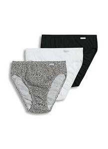 Jockey Womens Plus Size Elance French Cut 3 Pack Underwear Cuts 100% cotton