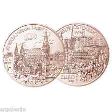 10 Euro Österreich 2015 KUPFER Motiv Wien