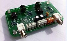 Audio tbf filtre passe-haut avec équilibré ou déséquilibré d'entrée par Kmtech design