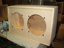 Custom 2x12 PS212U 212 deluxe speaker cabinet. Convertible back. DIY project