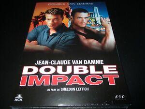 "DVD NEUF ""DOUBLE IMPACT"" Jean-Claude VAN DAMME"